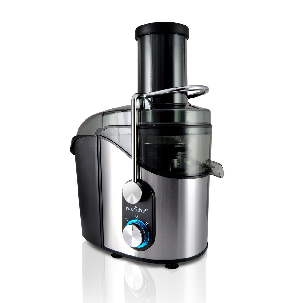 Pyle-Pro NutriChef High Power Juice Extractor, Stainless Steel Sound Around PKJC40