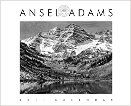 ansel adams 2011 engagement calendar