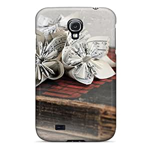 LASforcase Galaxy S4 Well-designed Hard Case Cover Book Protector