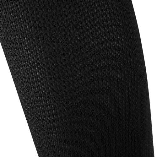 XL Sport Müdigkeit Overknee Grau Anti Kompressionssocken lange abgestufte Anti Strümpfe Paar Oberschenkel Bein Stretch 1 Rutsch FLAMEER qAza4n