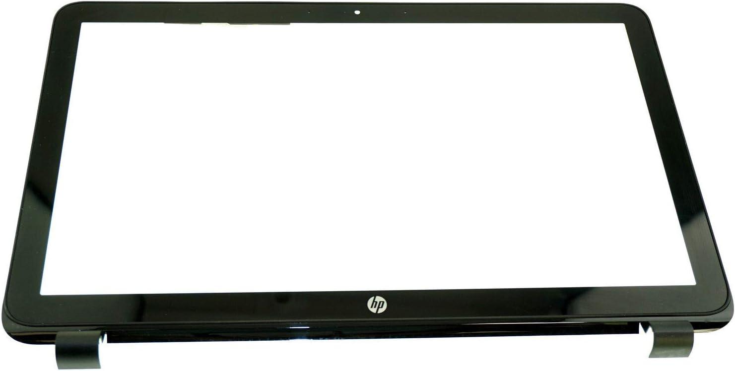 "JYLTK New Genuine 15.6"" Touch Screen Digitizer Glass + Plastic Bezel Frame + Touch Control Board Fit HP 15-F023WM 15-F024WM 15-F010DX 15-F010WM 15-F014WM"