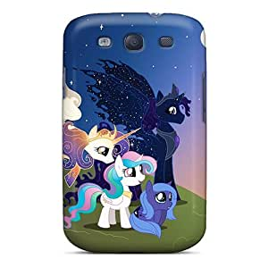 (voVwW18847FBaYY)durable Protection Case Cover For Galaxy S3(pony Sunset)