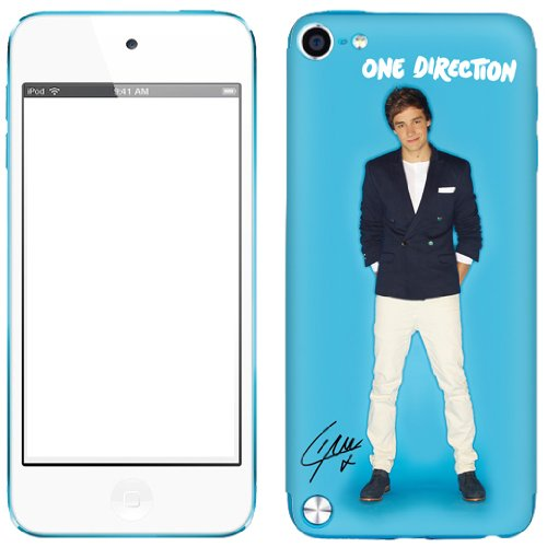 Zing Revolution One Direction Premium Vinyl Adhesive Skin for iPod touch 5G (Liam Blue Bright)