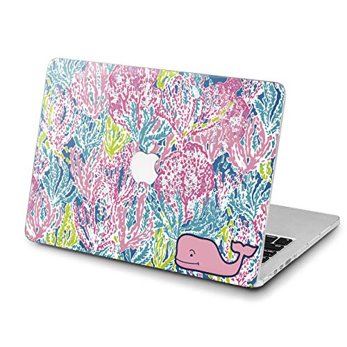 Lex Altern Stylish MacBook Air Case 13 inch Pro A1989 15 12 11 2017 Model 2018 Colorful Corals Mac Retina Cover Plastic Hard Trend Pink Whale Lilly Pulitzer Apple 2016 2015 Protective Girl Print Glam