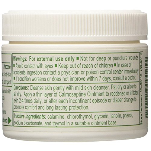 Calmoseptine Ointment - 2.5 oz Jar - Case of 12