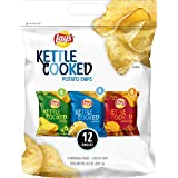 Lay's Kettle Cooked Potato Chips Variety Pack, 12 Count