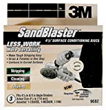 3M 9682 SandBlaster 4-1/2-Inch Multi-Grit Surface Conditioning Disc