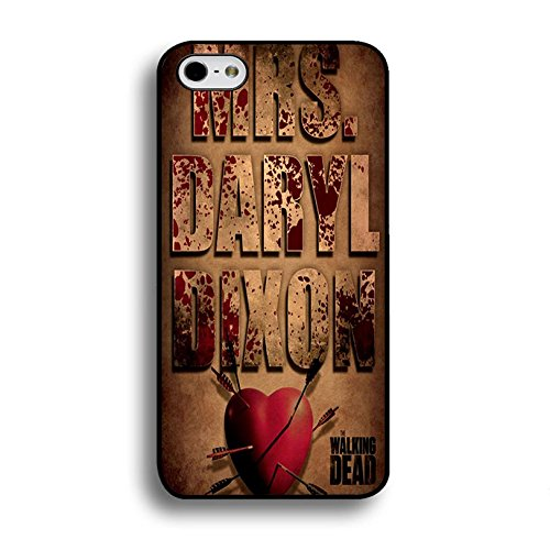Iphone 6 Plus / 6s Plus ( 5.5 Inch ) Cover Shell Fashion Vintage Heart Style Horror Zombies TV The Walking Dead Phone Case Cover Hipster Weird