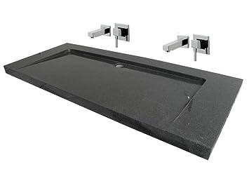 Doppelwaschbecken  Waschbecken aus Naturstein, Granit, Model