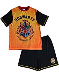 Boys Harry Potter Short Pajama Harry Potter Pajamas Hogwarts Pjs