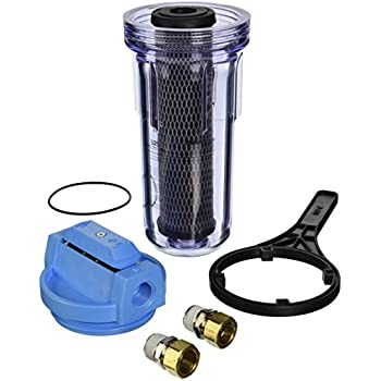 Omnifilter U25-S-S06 Whole House Water Filter System with Clear Housing