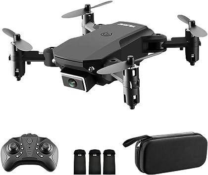 Opinión sobre GoolRC S66 RC Drone con cámara 4K Drone Cámara Dual Posicionamiento de Flujo óptico WiFi FPV Drone Modo sin Cabeza Altitud Hold Gesto Foto Video Pista Vuelo 3D FILP RC Qudcopter (Bolso, 3 Batería)