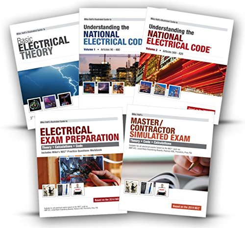 Mike Holt's Master Exam Preparation Book Package, 2014 NEC