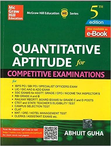 Quantitative Aptitude Full Book