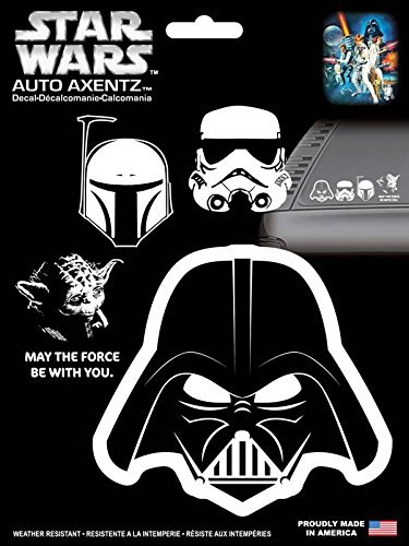 - Chroma Graphics 45005 Star Wars Heads Family Axentz Decal Kit