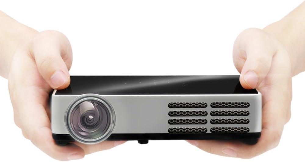AODIN DLP-600 pico proyector 3d proyector de cine en casa TV 1080P ...