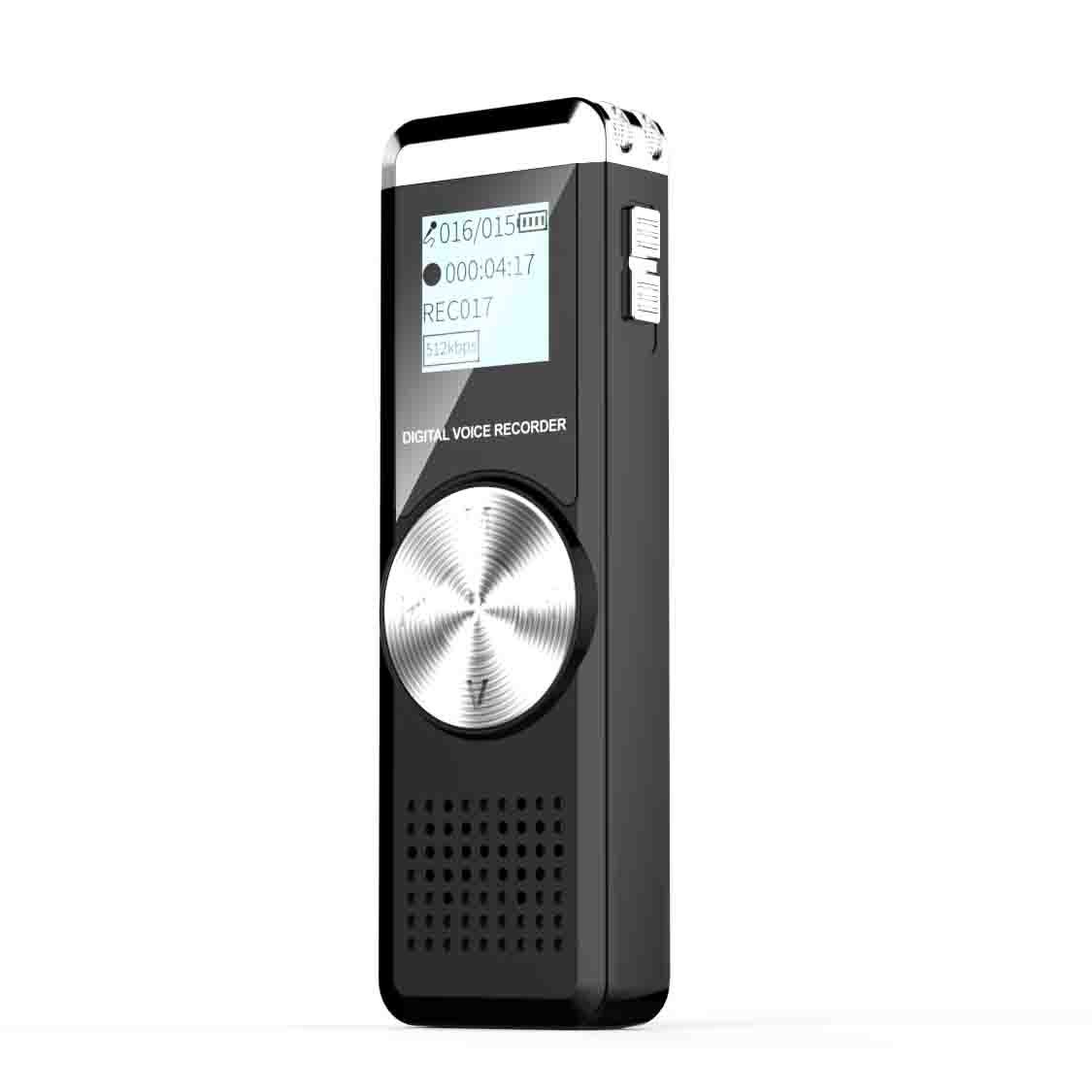 Voice Recorder for lectures Tape Recorder with MP3 BOYA 8GB Audio Recorder Digital Voice Activated Sound Recorder Portable USB Mini dictaphone Playback Easy Operation