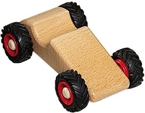 Fagus Speedy Wooden Race Car - Made in Germany