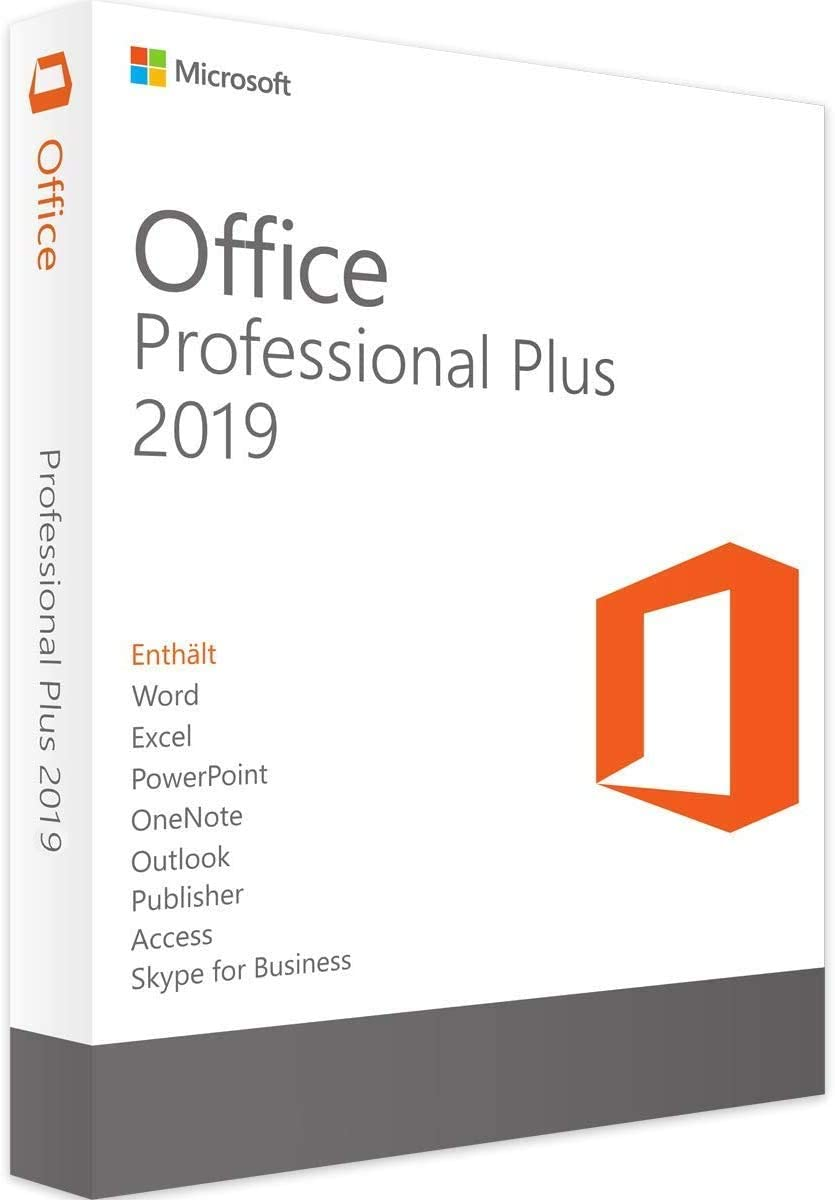 Office Professional 2019 1 PC KeyCard Lifetime License for Windows version