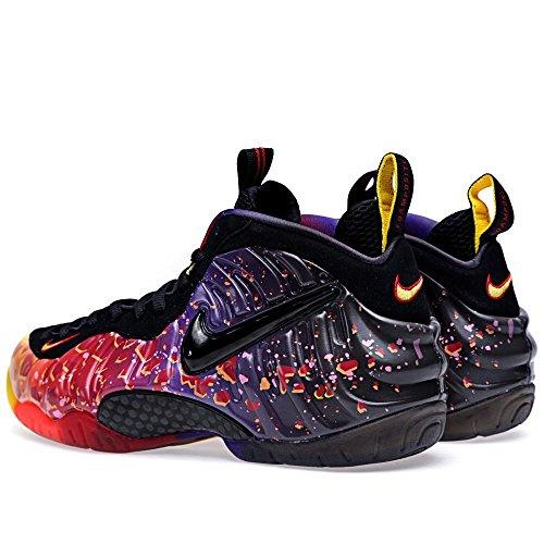 Nike Air Foamposite Pro Premium Asteroïde Herenschoenen Fire / Black 616750-600