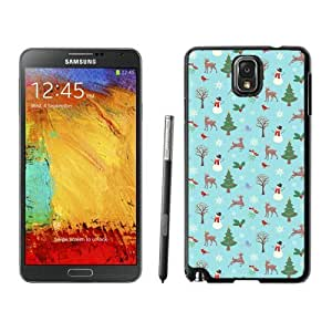 linJUN FENGPersonalized Hard Shell Christmas animals Black Samsung Galaxy Note 3 Case 1