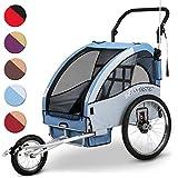 Infantastic® - Remolque de bicicleta/Jogger plegable (diferentes colores a elegir)