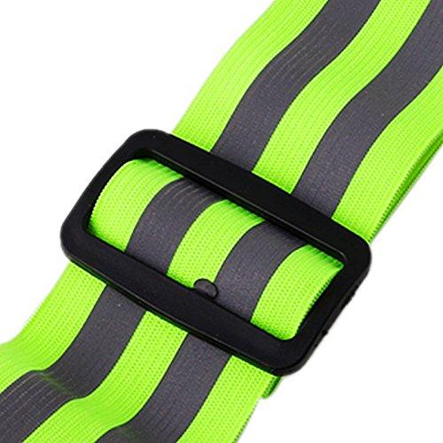Cintur/ón de Seguridad Reflectante con Alta Visibilidad osfanersty