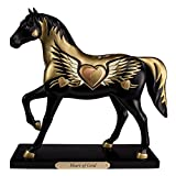 Trail of Painted Ponies Heart of Gold Golden Horse Collectible Figurine 4049720