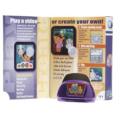 Fisher-Price Pixter Multi-Media Video ROM - Dora: Toys & Games