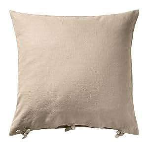 Amazon.com: IKEA URSULA – Funda de cojín, Beige – 25.6 x ...