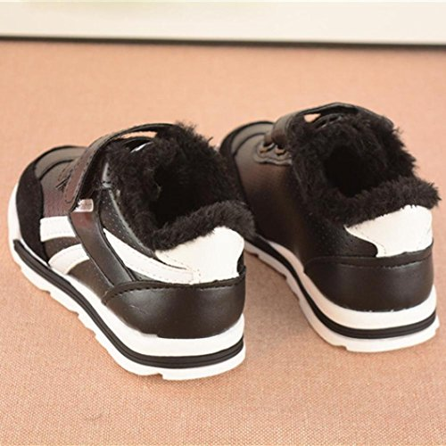 Hunpta Baby Mädchen Jungen Casual Sneakers Sportschuhe Outdoor Laufschuhe Schwarz
