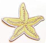 Nipitshop Patches Yellow Pink Starfish Sea Life