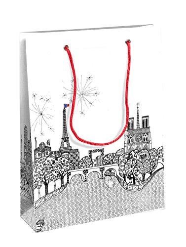 Clairefontaine 19 x 10 x 25 cm Charlene Mullen Medium Gift Paper Bag ()
