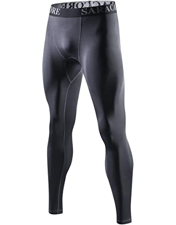c08898d9ff2f26 saraca core Men Youth Compression Pants Baselayer Cool Dry Athletic Tights  Running Leggings