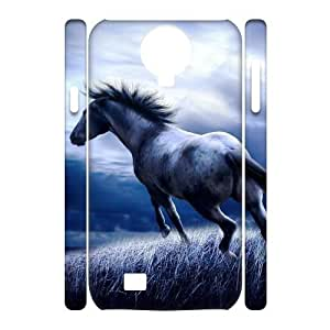 Horse Running Unique Design 3D Cover Case for SamSung Galaxy S4 I9500,custom cover case ygtg521908 by supermalls