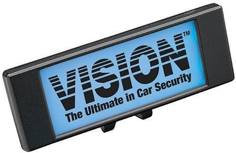 VISION ( ヴィジョン ) フラッシングLED ブルー カスタムロゴ 【盗難発生警報装置 オプション】 LM700B
