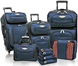 Travelers Choice Amsterdam 8pc Set, Navy