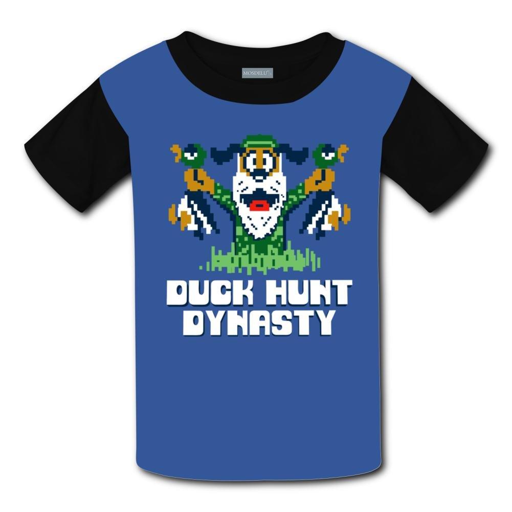 6fccd2b49dec Amazon.com  Yangjio T-Shirts Duck Hunt 3D Print Short Sleeve For Kids   Clothing
