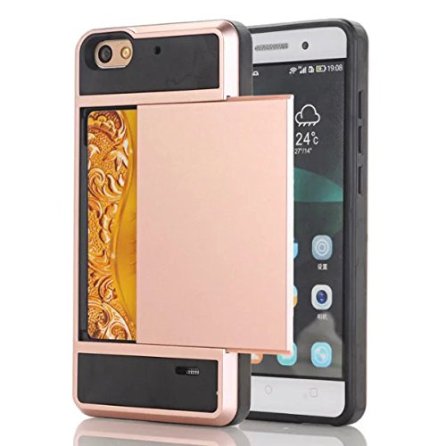 Slim Armor Case for Huawei Honor 4C (Gold) - 2