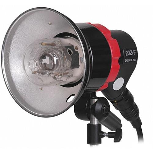 Speedotron 202VF CC 220V 2400W Black Line Light Unit with 7'' Reflector and Flash Tube by Speedotron