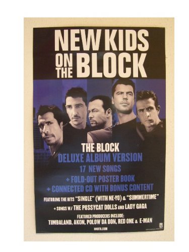 amazon com new kids on the block poster cool band image prints
