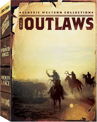 (Classic Western Collection - The Outlaws (The Proud Ones, Forty Guns, Broken Lance, The Culpepper Cattle Co.))
