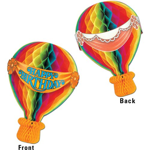 Tissue Hot Air Balloon Party Accessory (1 count) (1/Pkg)