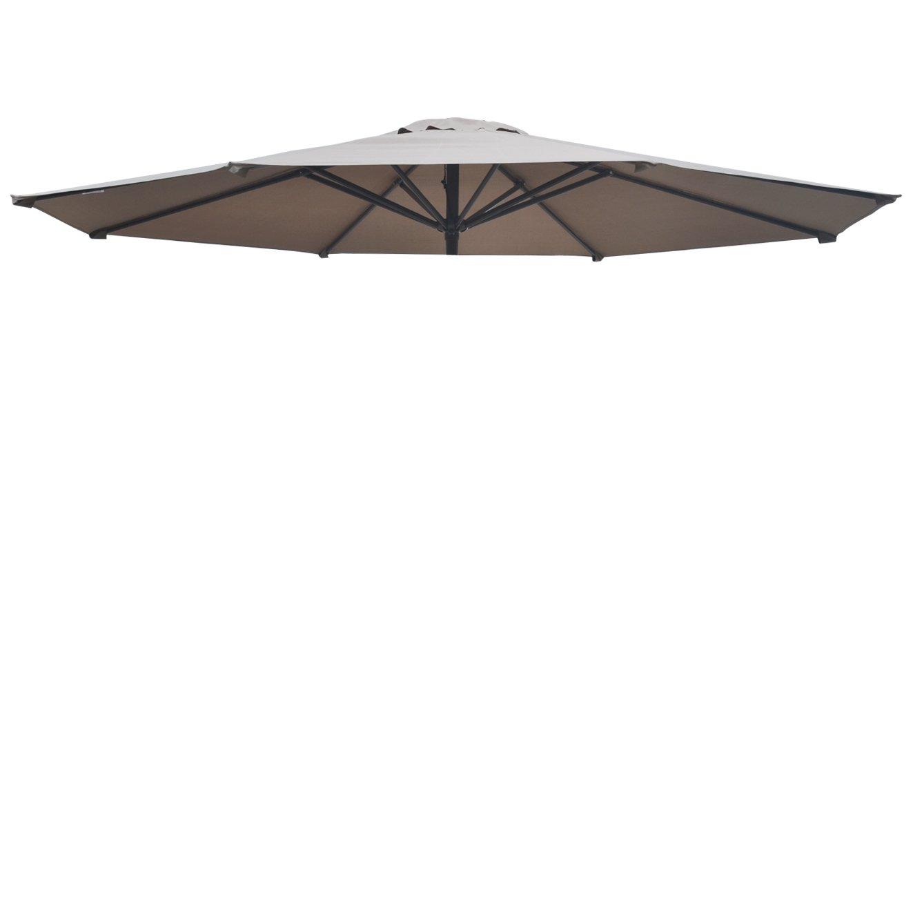 Amazon.com : Replacement Patio Umbrella Canopy Cover For 11.5ft 8 Ribs  Umbrella Taupe (CANOPY ONLY) BROWN : Garden U0026 Outdoor