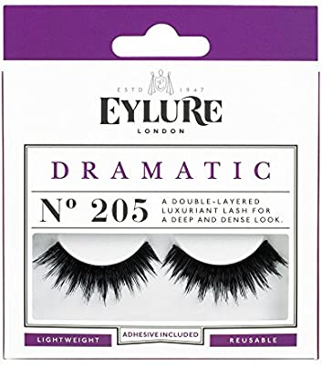c788616d8bd Amazon.com: (Pack of 5 Pairs) Eylure Naturalites #205 False Eyelashes Lashes:  Beauty