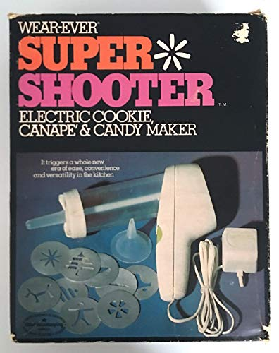 Wear-Ever 70001 Super Shooter Electric Cookie, Canape & Candy Maker
