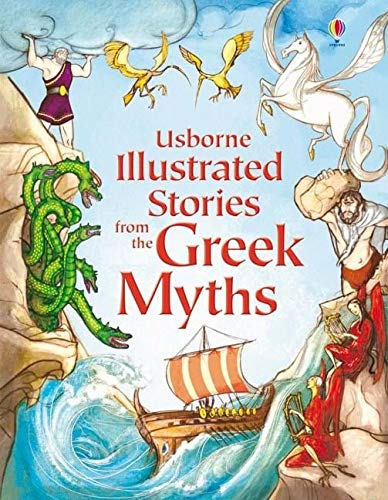 Image result for usborne illustrated stories from the greek myths