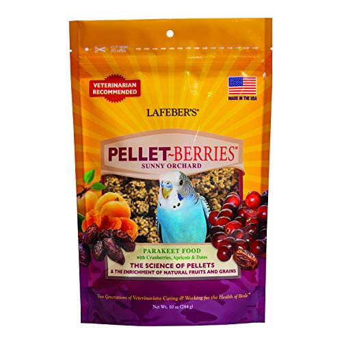 (LAFEBER'S Pellet-Berries for Parakeets 10)