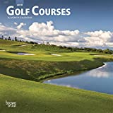 Golf Courses 2019 7 x 7 Inch Monthly Mini Wall Calendar, Golfing Sports (Multilingual Edition)