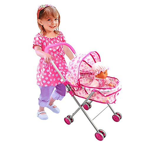 Doll Pram Pushchair - 8